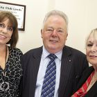 Caron Munro Bdaily, formerly membership director of Club LS1, Canon Keith Madeley, MBE, Margaret Hir