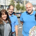 Councillors John Anglin and Tracey Dixon (front) join Liz and Scott Carlucci of The Clifton Hotel an