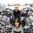 Wheel success for Newcastle husband and wife team