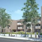 An artist's impression of the Leaf Street development