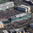 Aerial shot of Cobalt Business Park, Newcastle