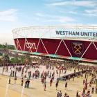 CGI of West Ham's digital display