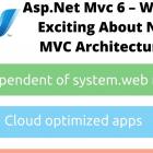 Asp.Net Mvc 6 - New Mvc Architecture