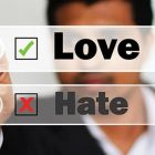 love-hate data