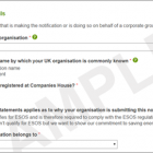 EXAMPLE: ESOS Compliance Notifcation Form